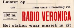 Veronica - 1961 - Sticker 001