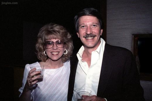 Judy (l) en Tom (r) Parma, foto JAM Facebook