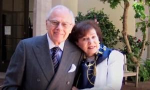 Sid Ramin en zijn vrouw Gloria Breit - Still uit video Overture