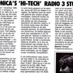 Artikel over Veronica studio