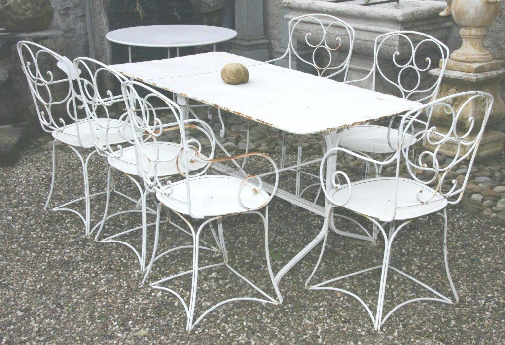 Best Salon De Jardin Metal Ancien Pictures - House Design ...