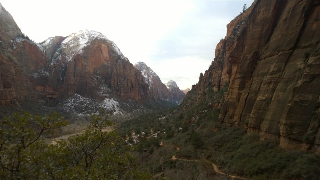 Trail to the Angel's Landing