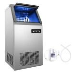 4x8 Pcs Built In Portable Auto Commercial Ice Maker For Restaurant Bar 110lb 24h Ebay