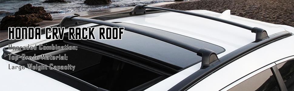 details about fit honda crv cr v 2017 2018 2019 20 roof rack side rail cross bar kit 4 pcs