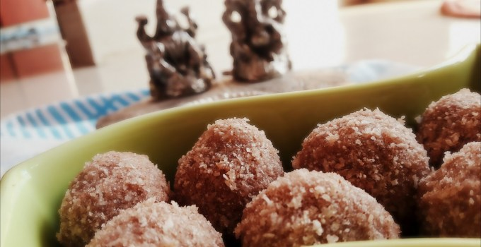 Poha Ladoo – Red Aval Ladoo