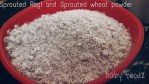 sprouted ragi flour for babies