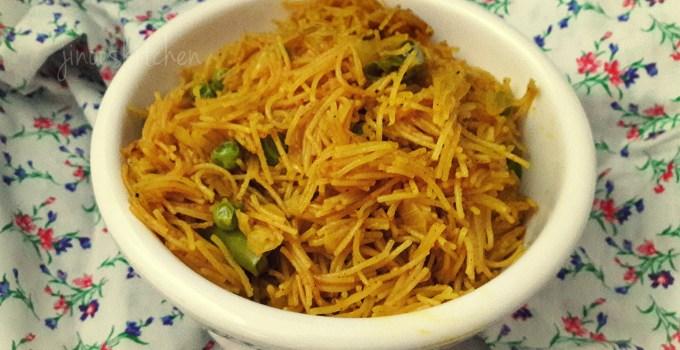 Vermicelli Pulao ~ Masala Semiya recipe