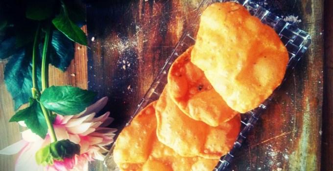 Tikhi Puri recipe ~ Masala Puri