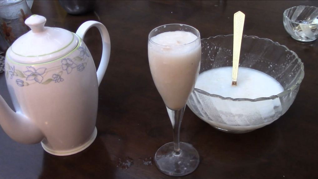 Elaneer sharbat ~ Tender coconut cooler