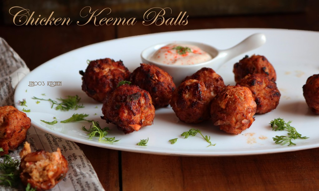 Chicken Keema Balls | Easy chicken starters recipe