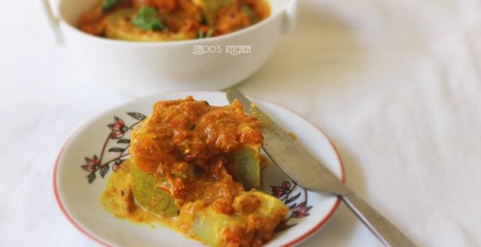 Stuffed Bottle gourd curry   Lauki Musallam
