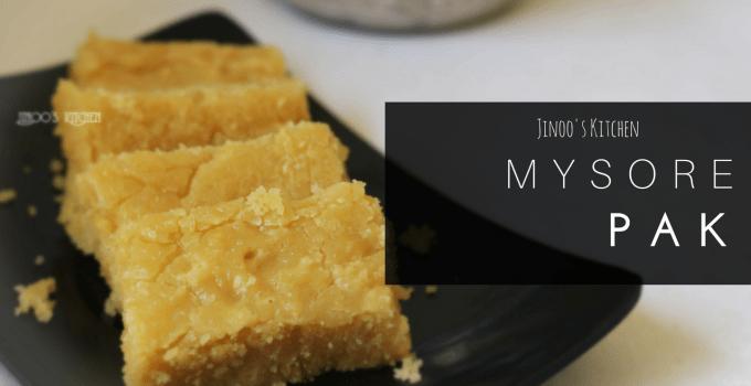 Mysore Pak recipe   Video recipe