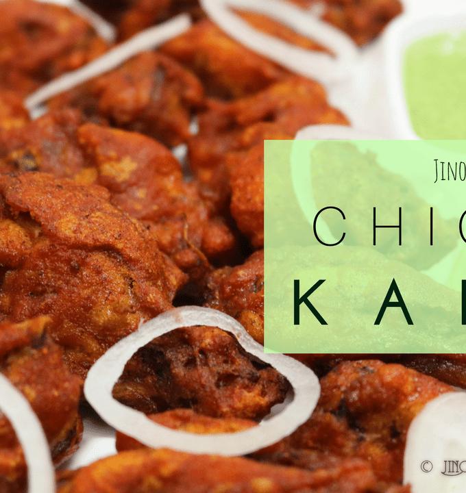 Fried Chicken Kababs recipe