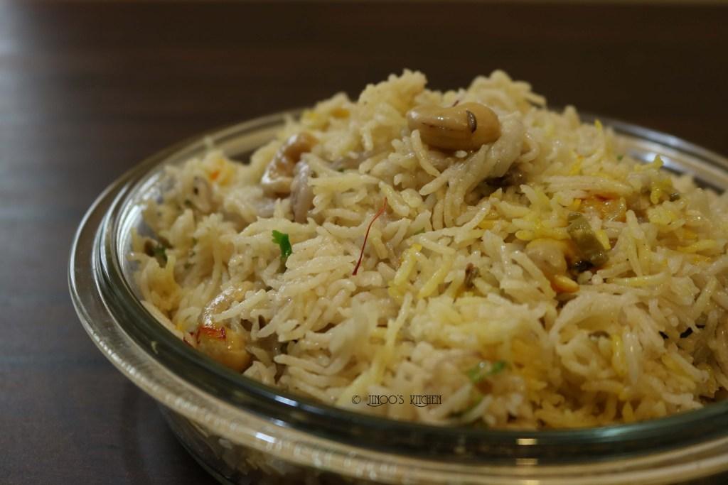 Ghee Rice with Coconut Milk recipe  Malabar Ghee Rice recipe