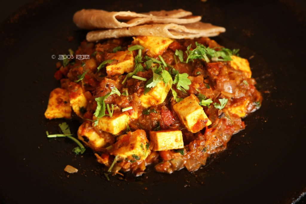 Tawa paneer masala recipe | Paneer Tava Masala