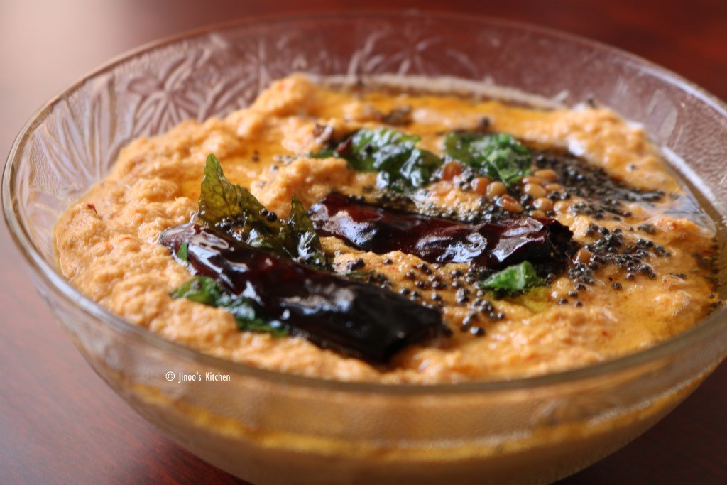 Kerala coconut chutney recipe | Red coconut chutney recipe