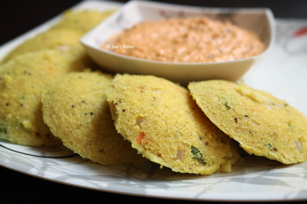 Healthy oats masala idli recipe | Instant south Indian breakfast idly without rice
