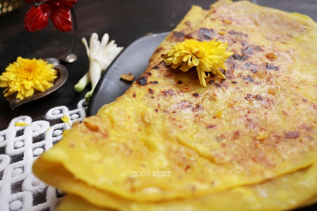 Obbattu recipe | bele obbattu | puran poli | holige recipe | Sweet Boli