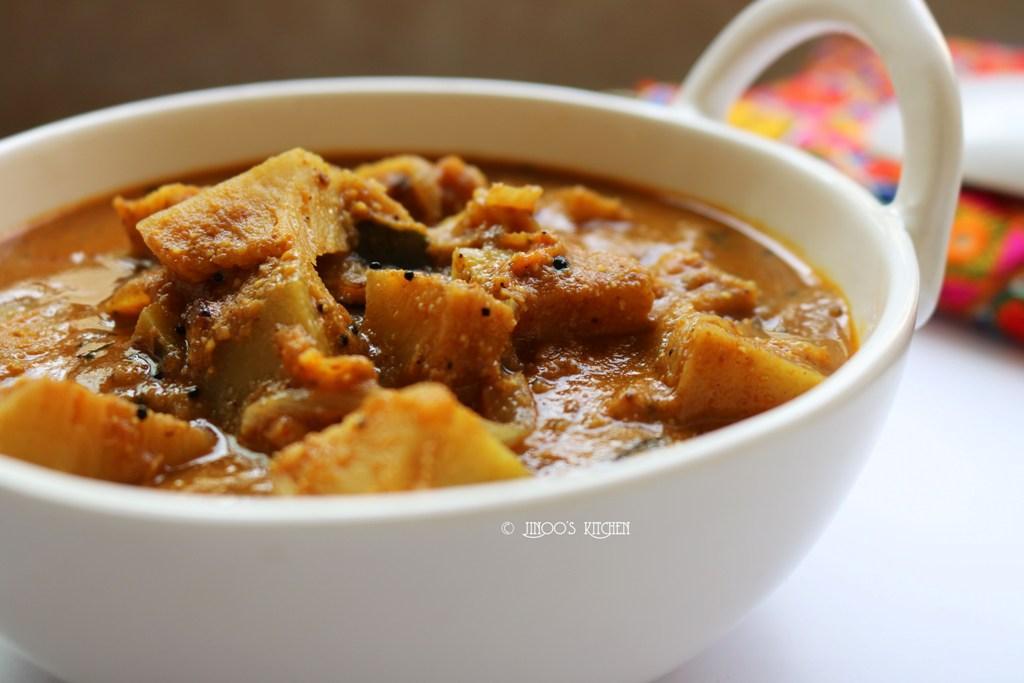 kadachakka curry | Breadfruit curry | kada chakka masala curry