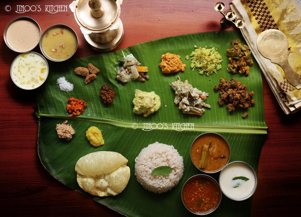 kerala sadhya recipes