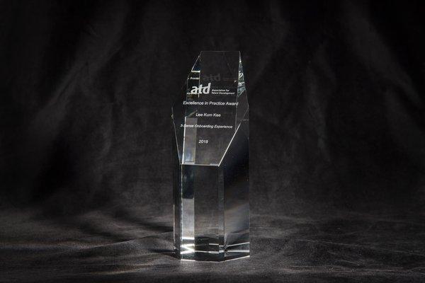 李錦記榮獲美國人才發展協會頒發卓越實踐獎2018