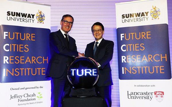 雙威大學和蘭卡斯特大學成立未來城市研究所推進可持續城市建設