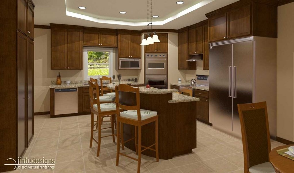 Kitchen Floor Plan Layout