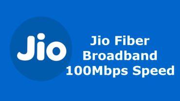 Jio Fiber Broadband plans welcome offer