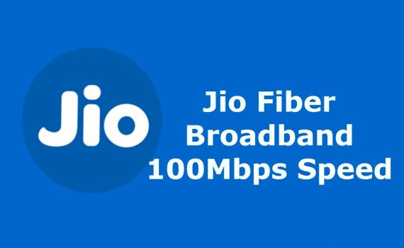 Jio Fiber Broadband plans welcome offer