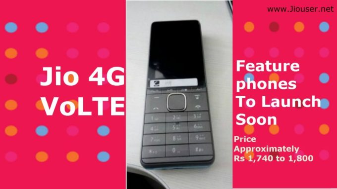 Jio VoLTE Feature Phone