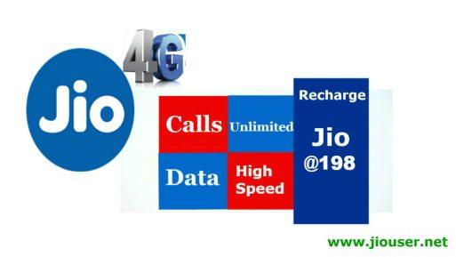 Jio 198 Recharge Plan