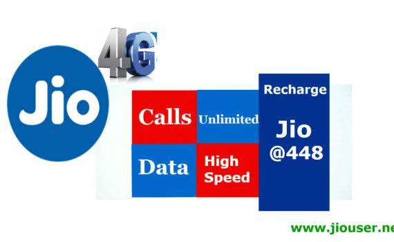Jio Recharge Plan Rs 448