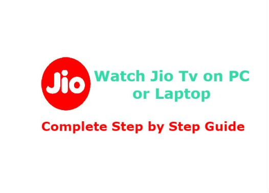 Jio TV App Download for PC | How to Install from PlayStore
