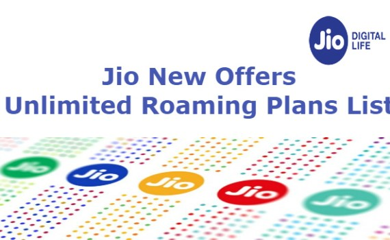 Unlimited Jio International Roaming Recharge Plans