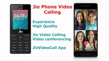 Jio Phone Video Calling App