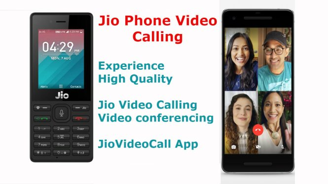 Jio Phone Video Calling App