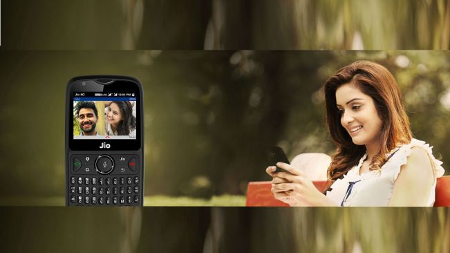 Jio phone video calling