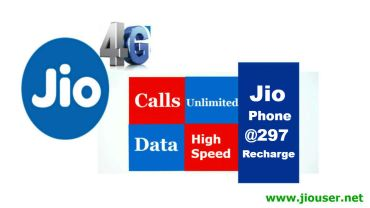 Jio Phone 297 Recharge Plan