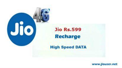 Jio 599 Recharge