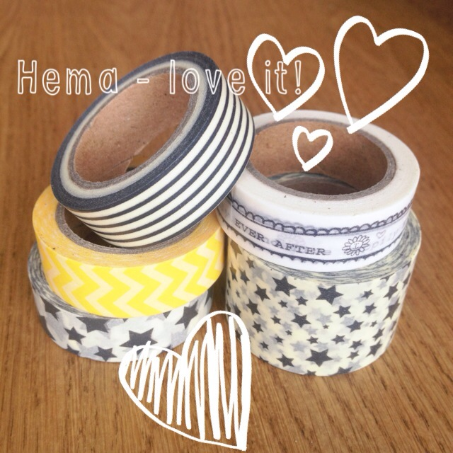 Hema washi tape Jip by Jan