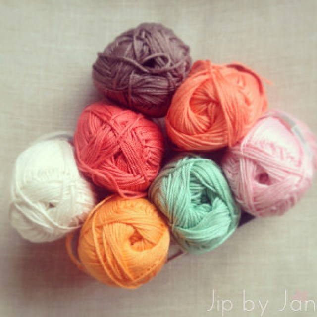 Learning to crochet all over again My first crochet yarns Jip by Jan
