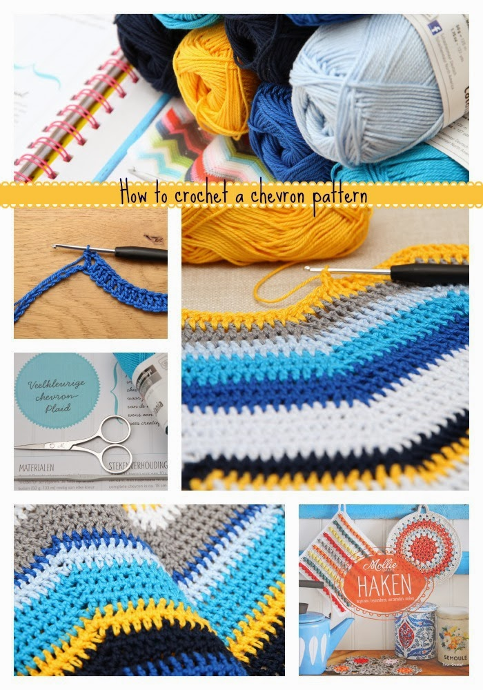 How To Crochet A Chevron Pattern Jip By Jan