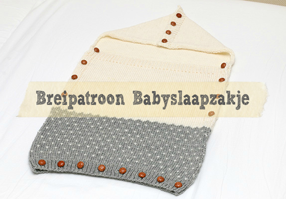 Breipatroon babyslaapje Jip by Jan