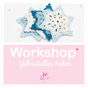Workshop IJskristallen haken – Rijssen – 7 november 2020