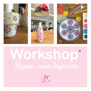 Workshop Stippen voor beginners – Rijssen – 26 september 2020