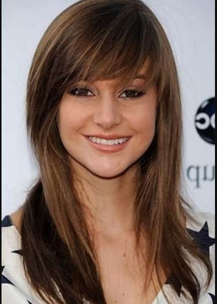 Hairstyles For A Round Inverted Triangle Or Face