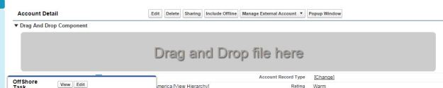 HTML5 Drag And Drop File