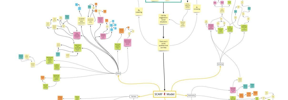 Mindmap of SCRAF model