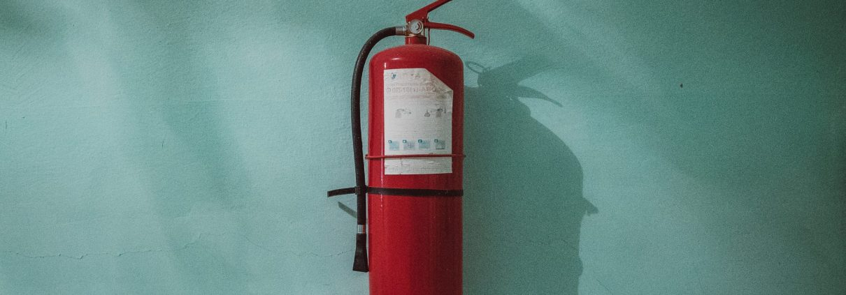 Fire extinguisher by Piotr Chrobot