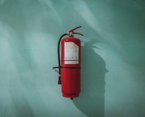 Fire extinguisher by Piotr Chrobot